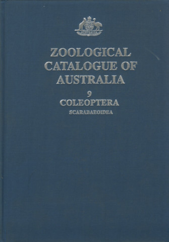 Zoological Catalogue of Australia