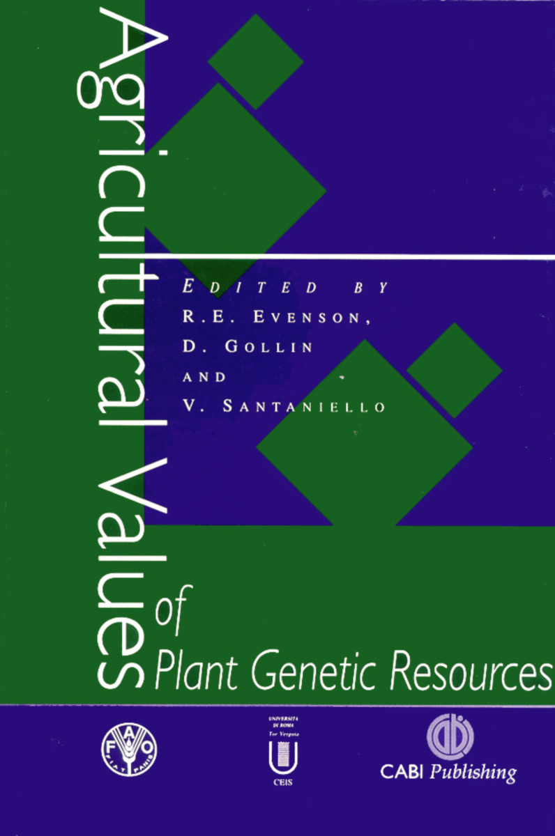 Agricultural Values of Plant Genetic Resources
