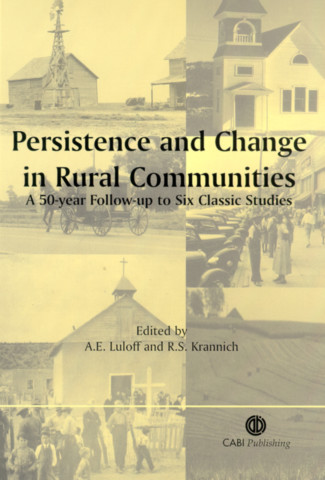 Persistence and Change in Rural Communities