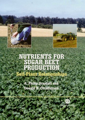 Nutrients for Sugar Beet Production
