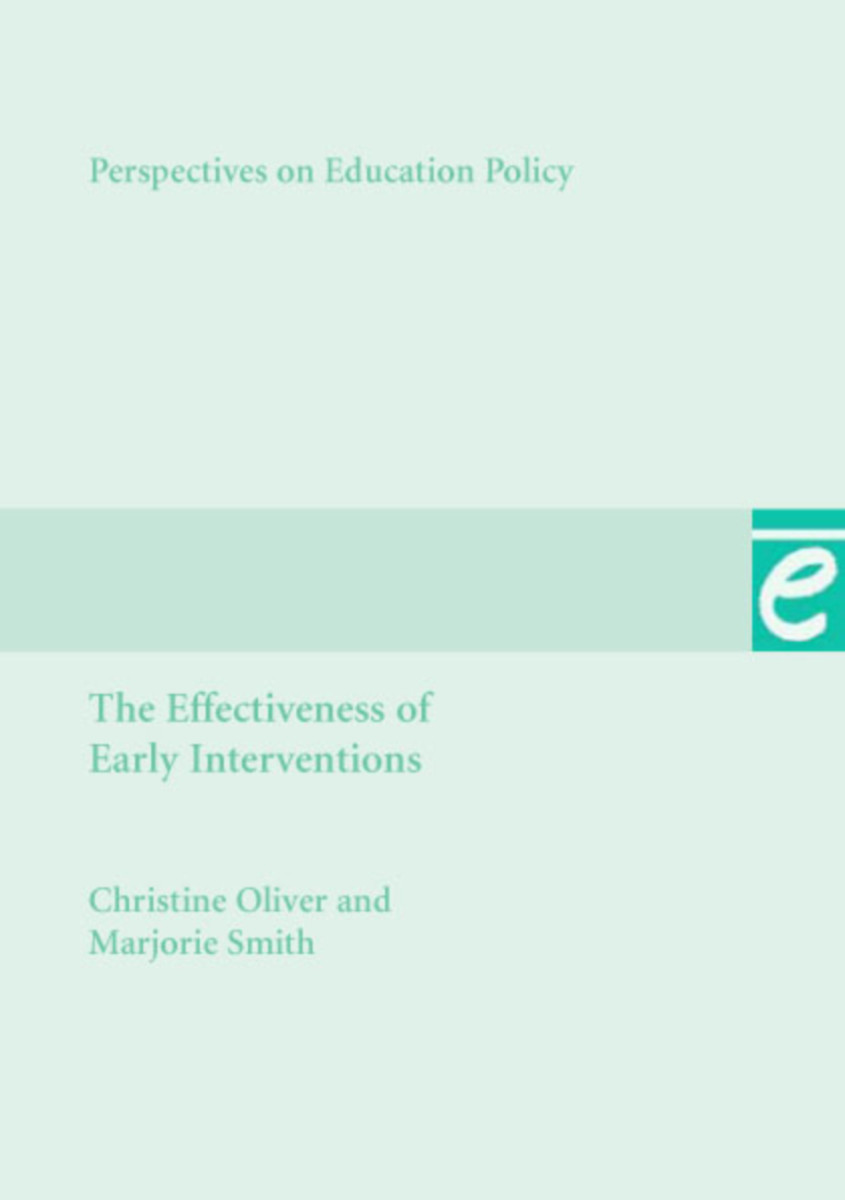 Effectiveness of Early Interventions