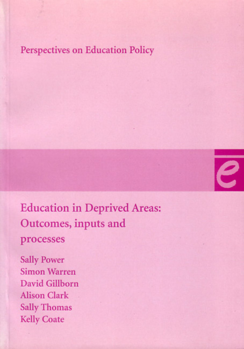 Education in Deprived Areas
