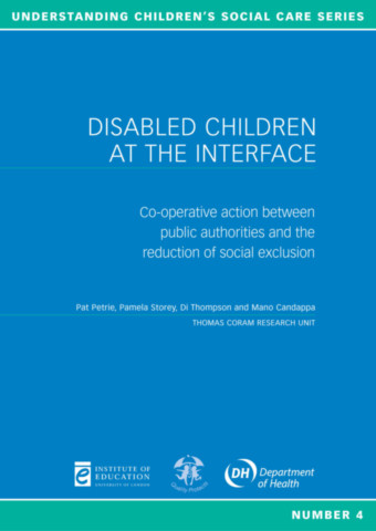 Disabled Children at the Interface