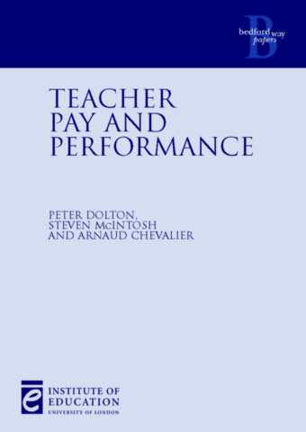 Teacher Pay and Performance