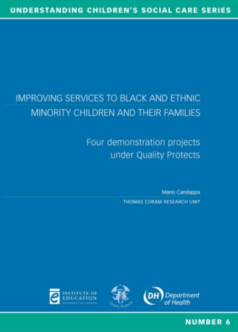 Improving Services to Black and Ethnic Minority Children and Their Families