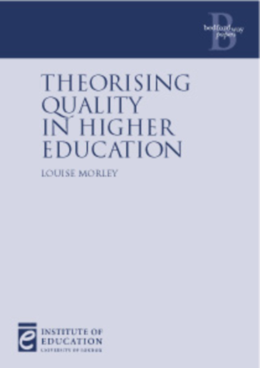 Theorising Quality in Higher Education