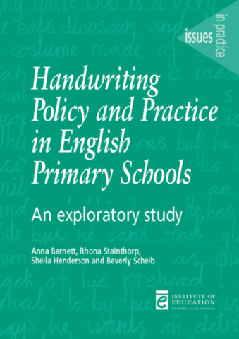 Handwriting Policy and Practice in English Primary Schools