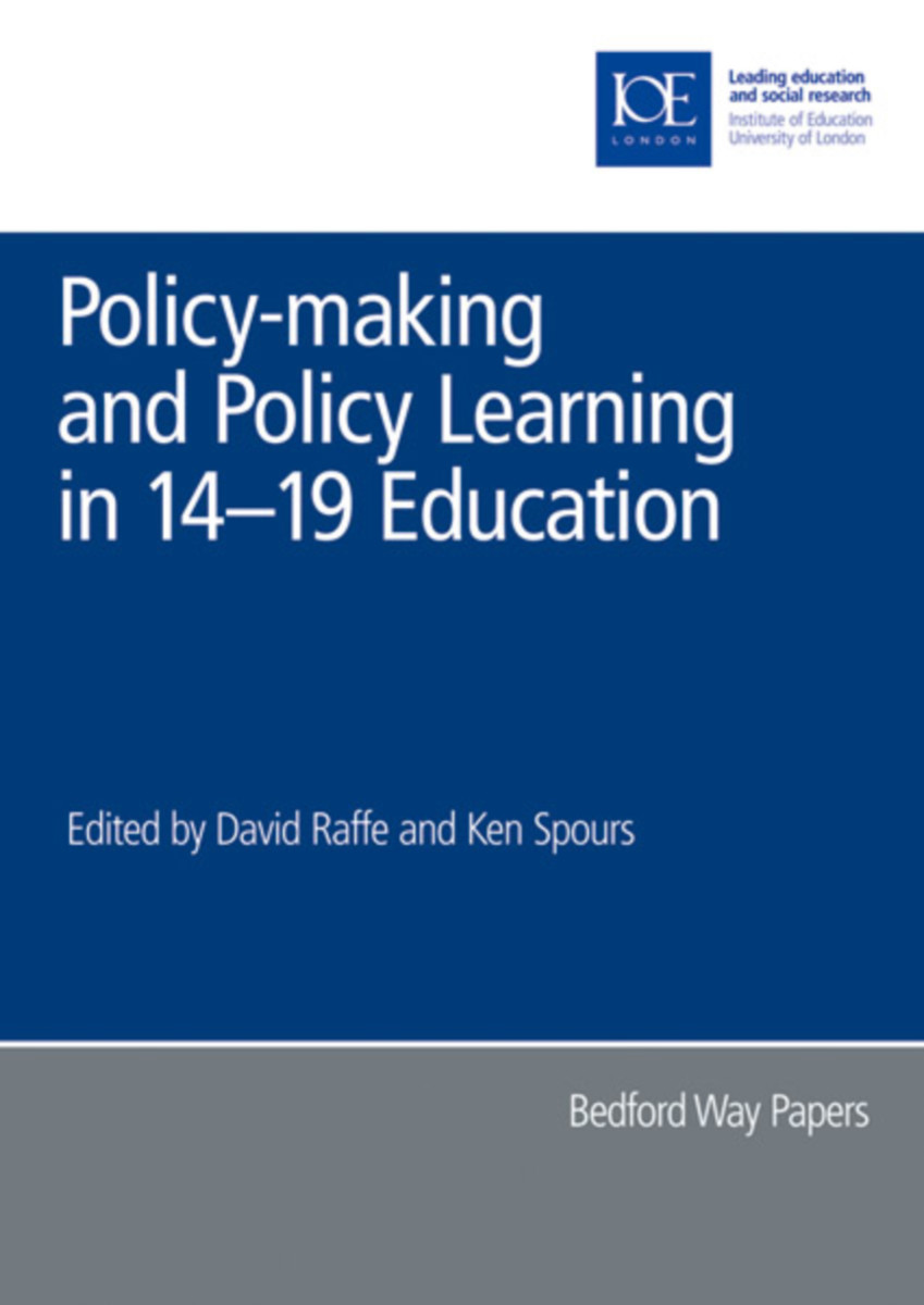 Policy-making and Policy Learning in 14-19 Education