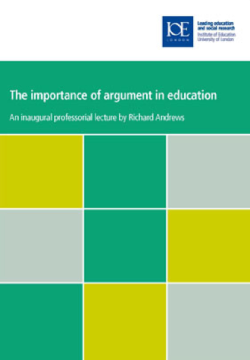 The Importance of Argument in Education