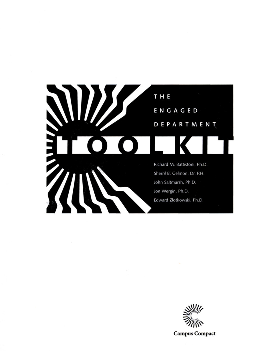 The Engaged Department Toolkit
