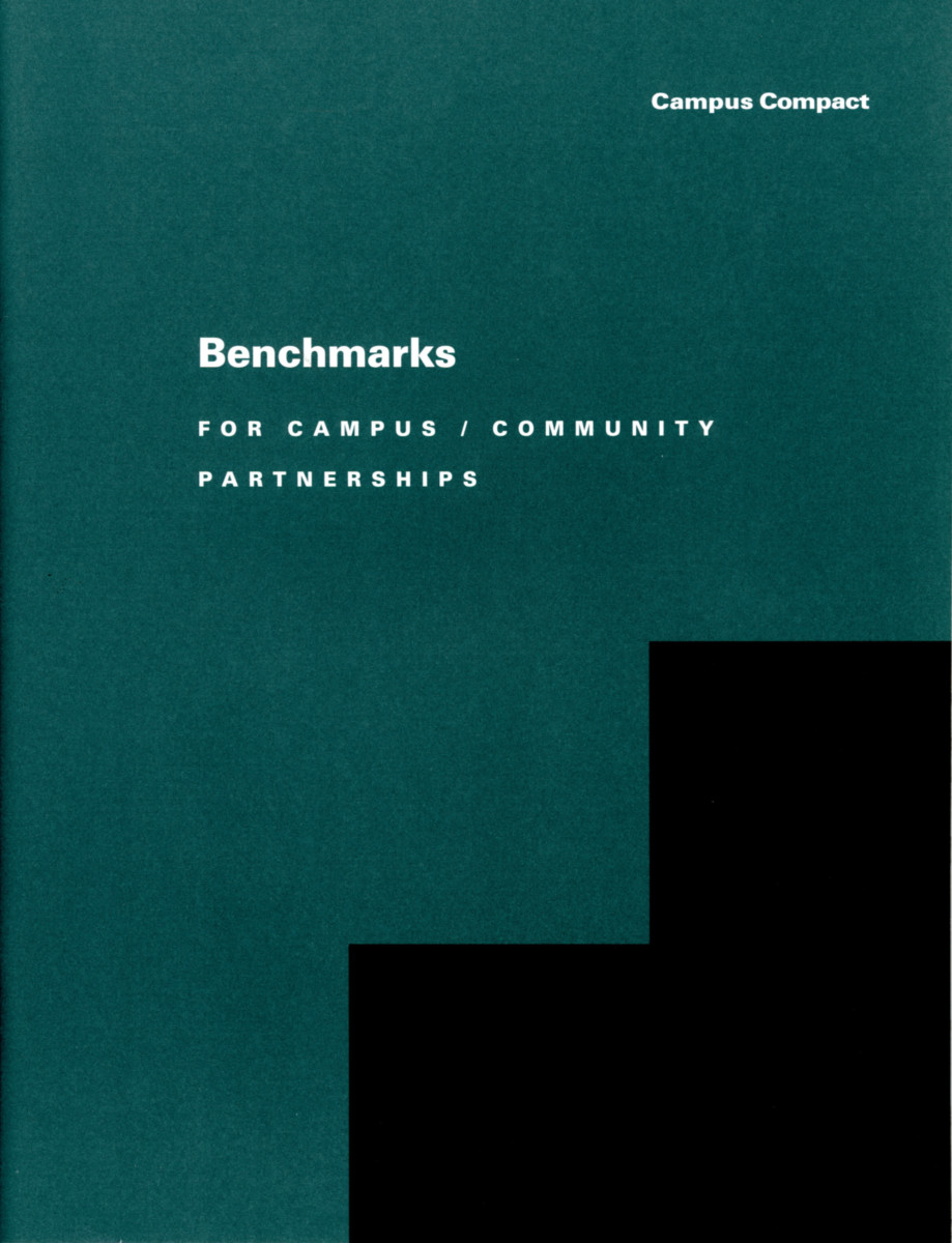 Benchmarks for Campus Community Partnerships