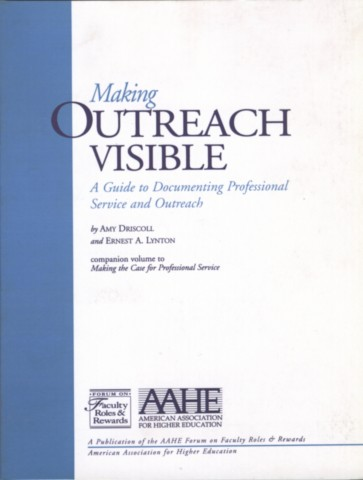 Making Outreach Visible