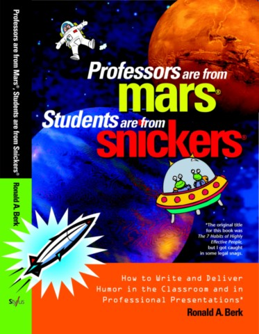 Professors Are from Mars®, Students Are from Snickers®