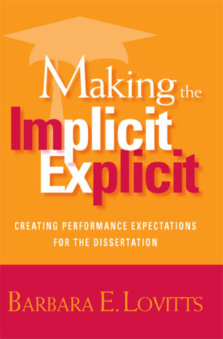 Making the Implicit Explicit