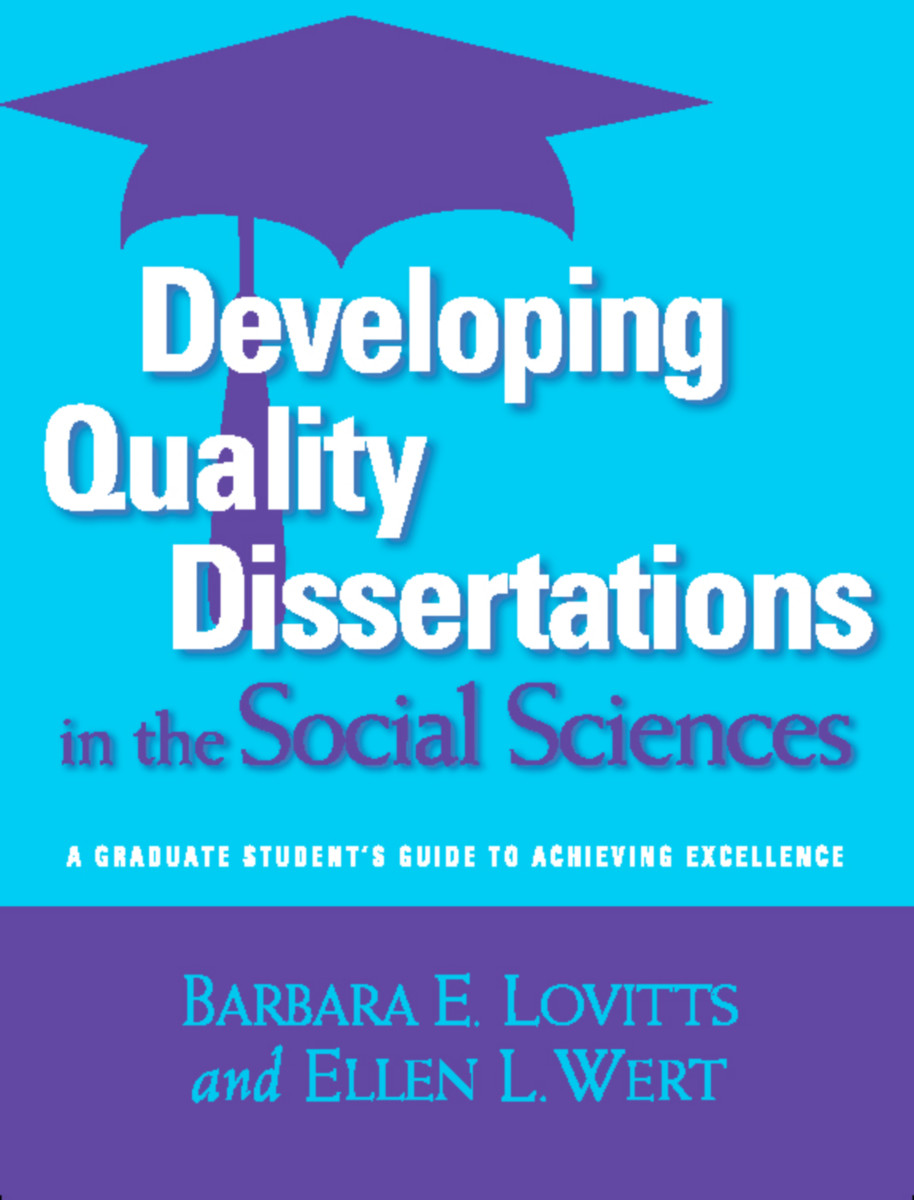 Developing Quality Dissertations in the Social Sciences