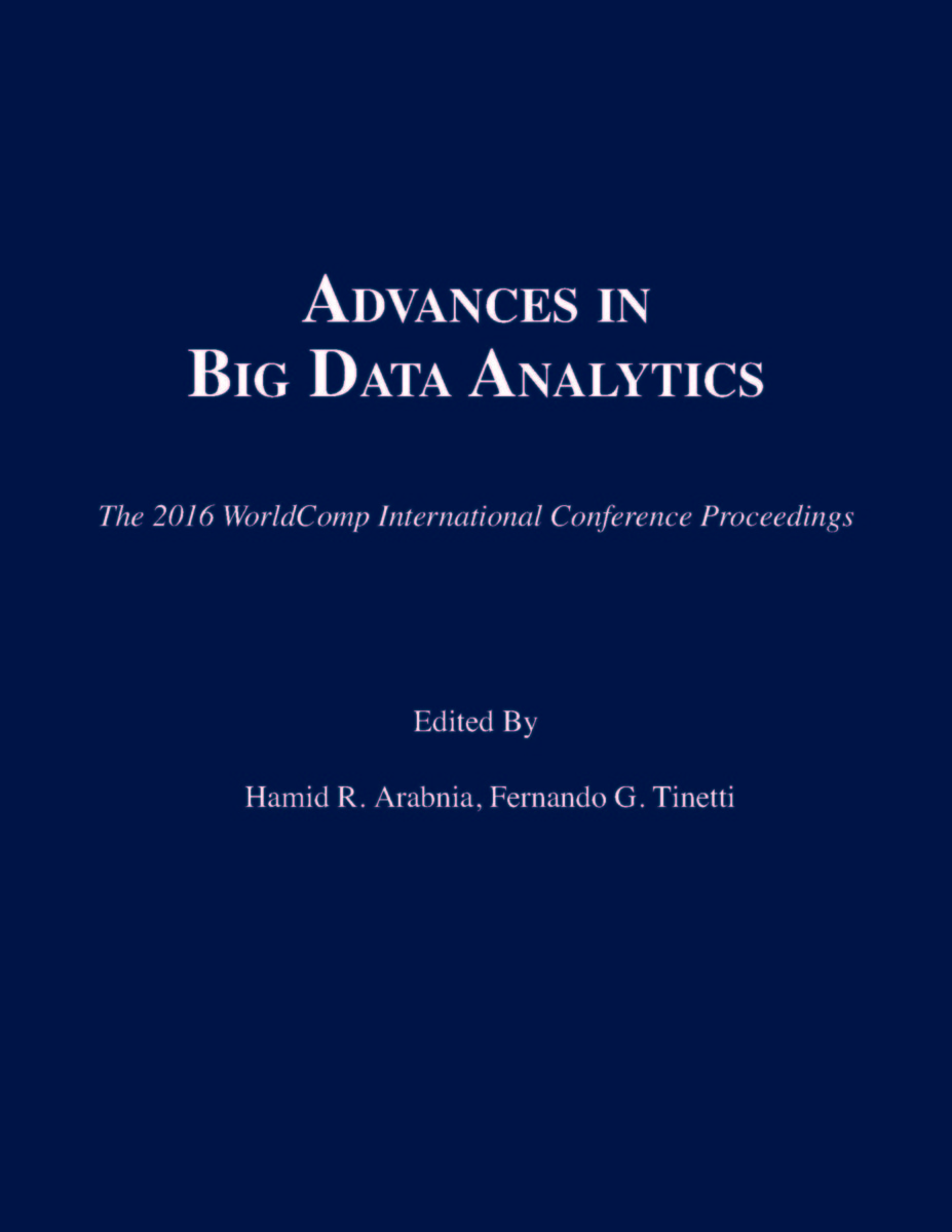 Advances in Big Data Analytics