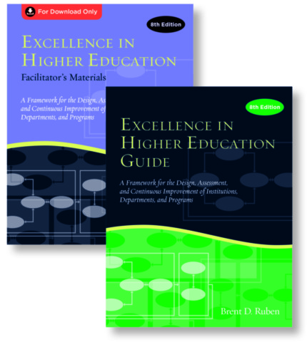 Excellence in Higher Education Guide & Facilitator's Materials Set