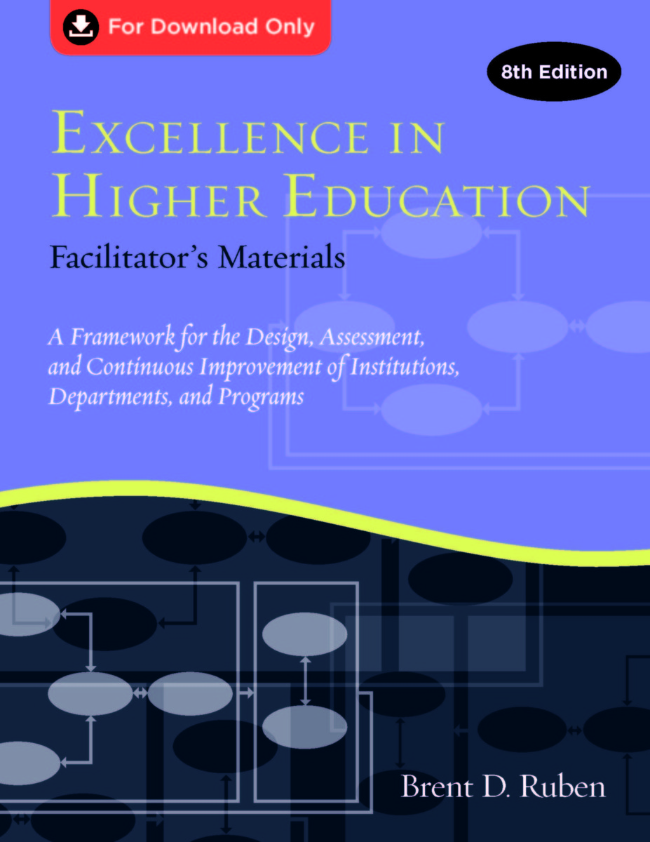 Excellence in Higher Education