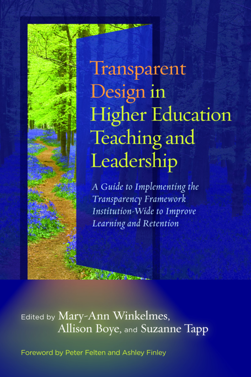 Transparent Design in Higher Education Teaching and Leadership