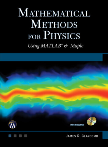 Mathematical Methods for Physics