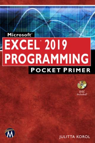Microsoft Excel 2019 Programming Pocket Primer