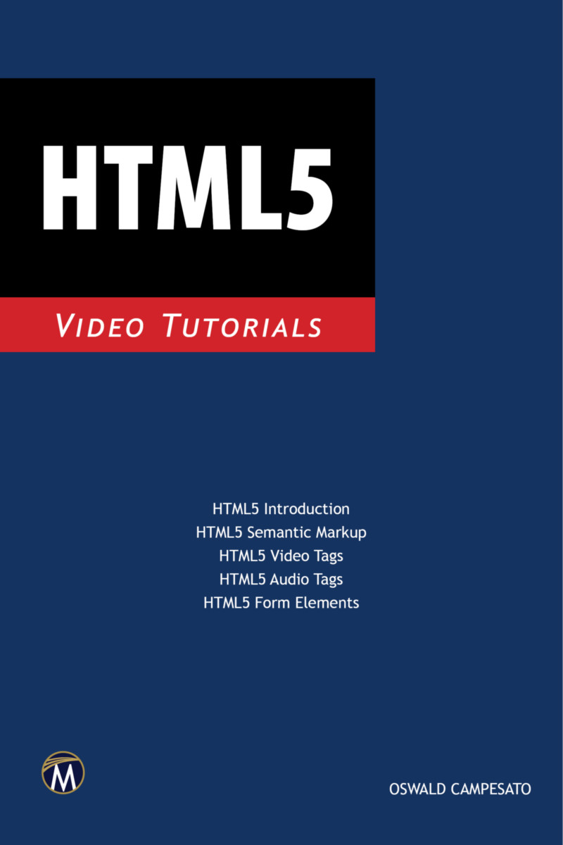 HTML5 Programming Video Tutorials