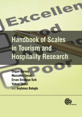 Handbook of Scales in Tourism and Hospitality Research