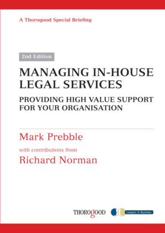 Managing In-house Legal Services