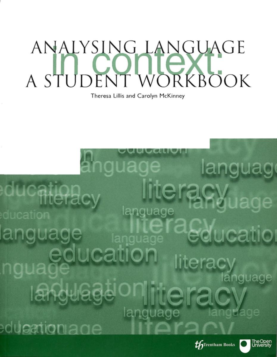 Analysing Language in Context