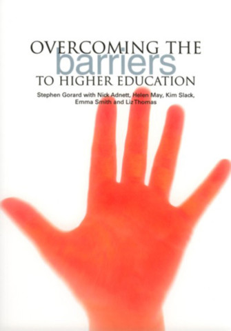 Overcoming the Barriers to Higher Education