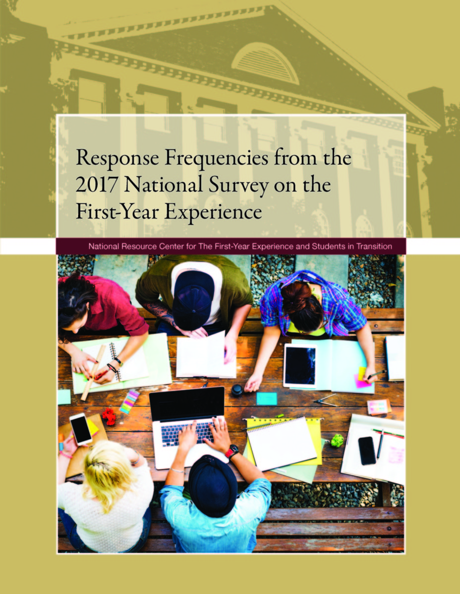 Response Frequencies from the 2017 National Survey on The First-Year Experience