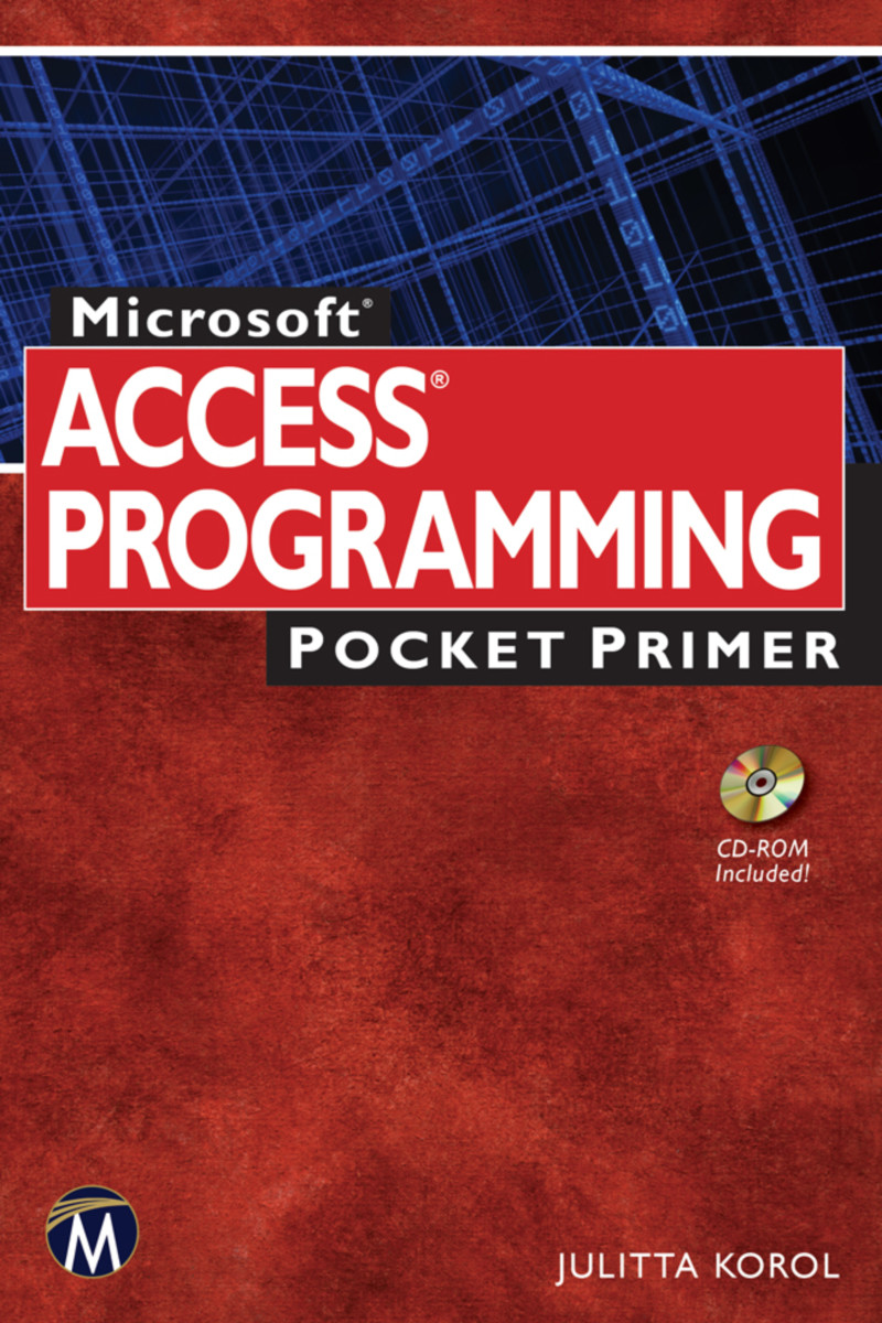 Microsoft Access Programming Pocket Primer