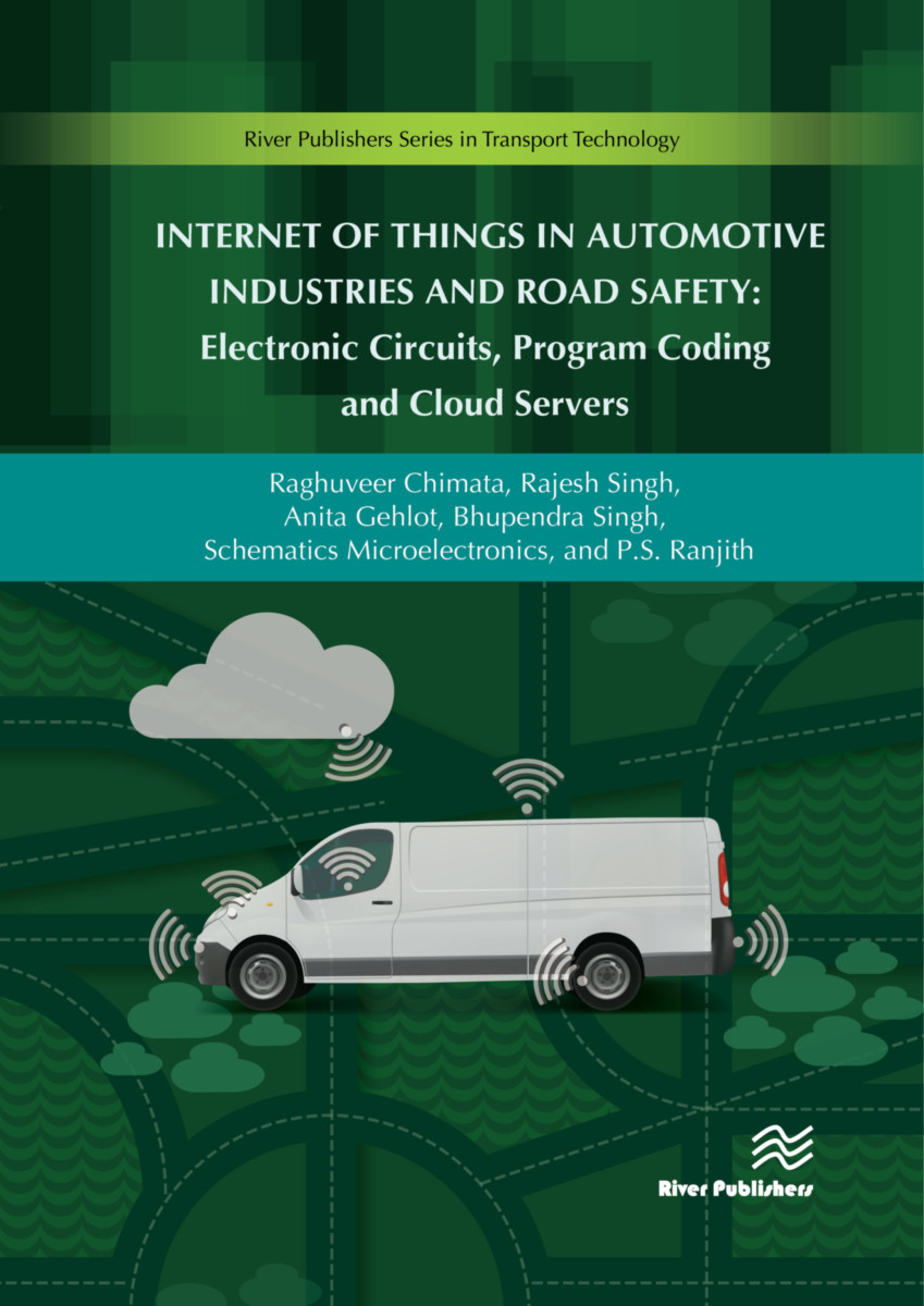 Internet Of Things In Automotive Industries And Road Safety Electronic Circuit Book Cover