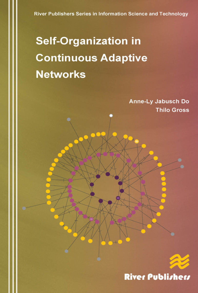 Self-Organization in Continuous Adaptive Networks