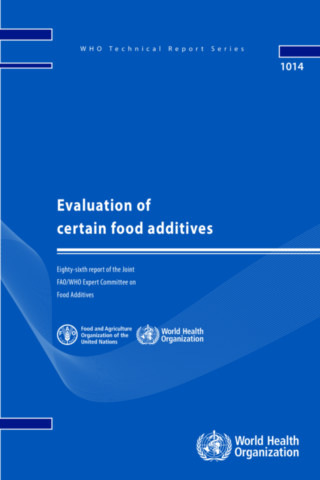 Evaluation of Certain Food Additives