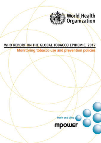 WHO Report on the Global Tobacco Epidemic, 2017