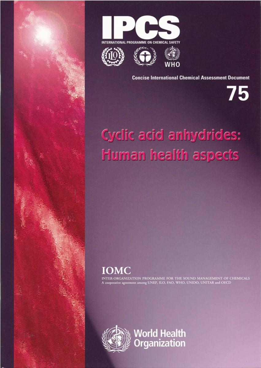 Cyclic Acid Anhydrides