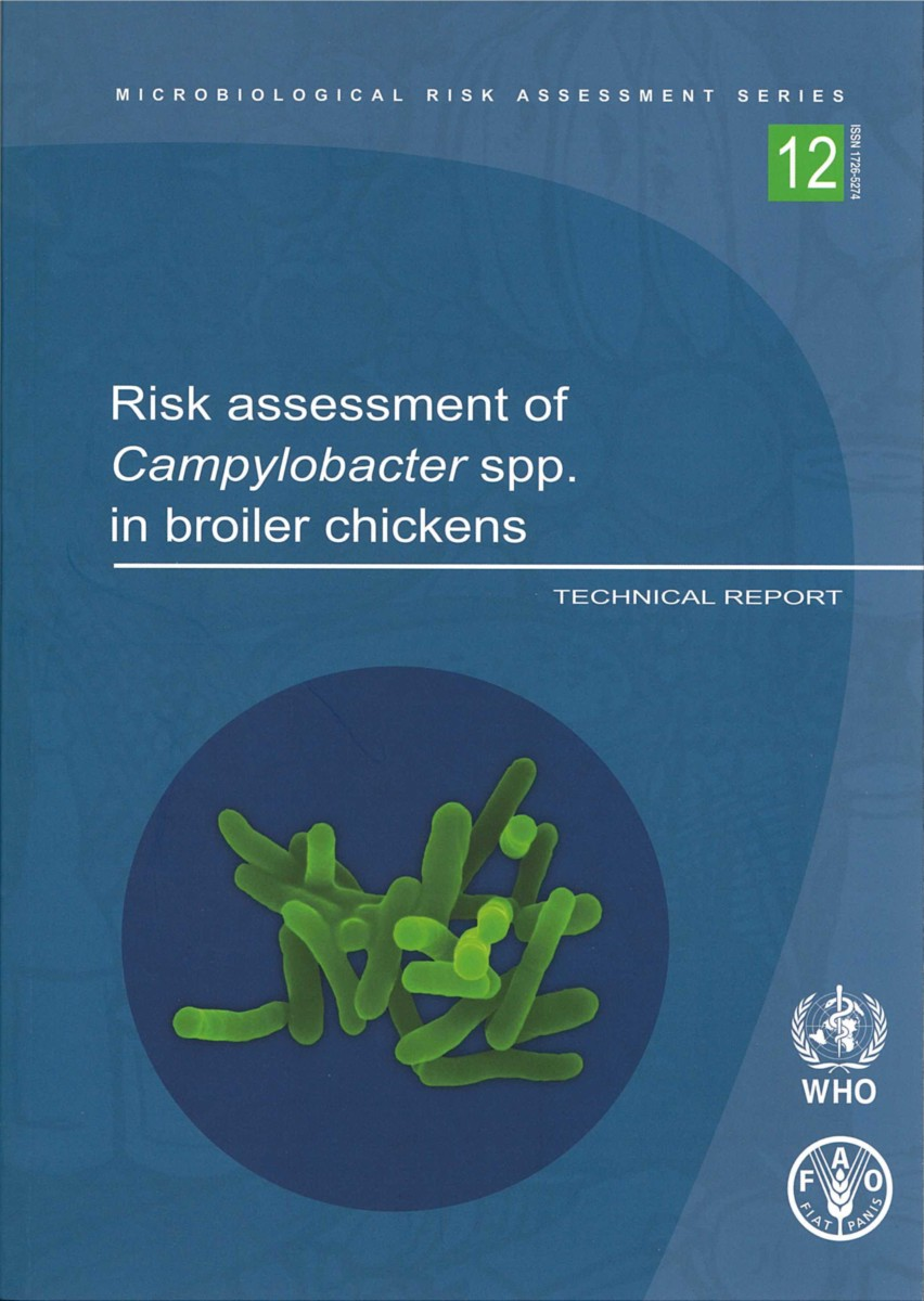 Risk Assessment of Campylobacter spp. in Broiler Chickens