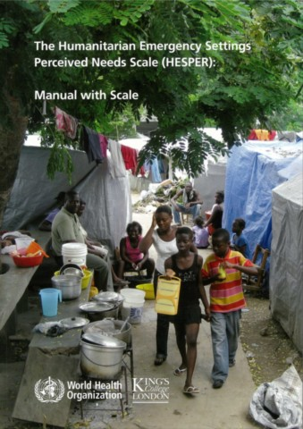 The Humanitarian Emergency Settings Perceived Needs Scale (HESPER)