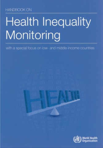 Handbook on Health Inequality Monitoring