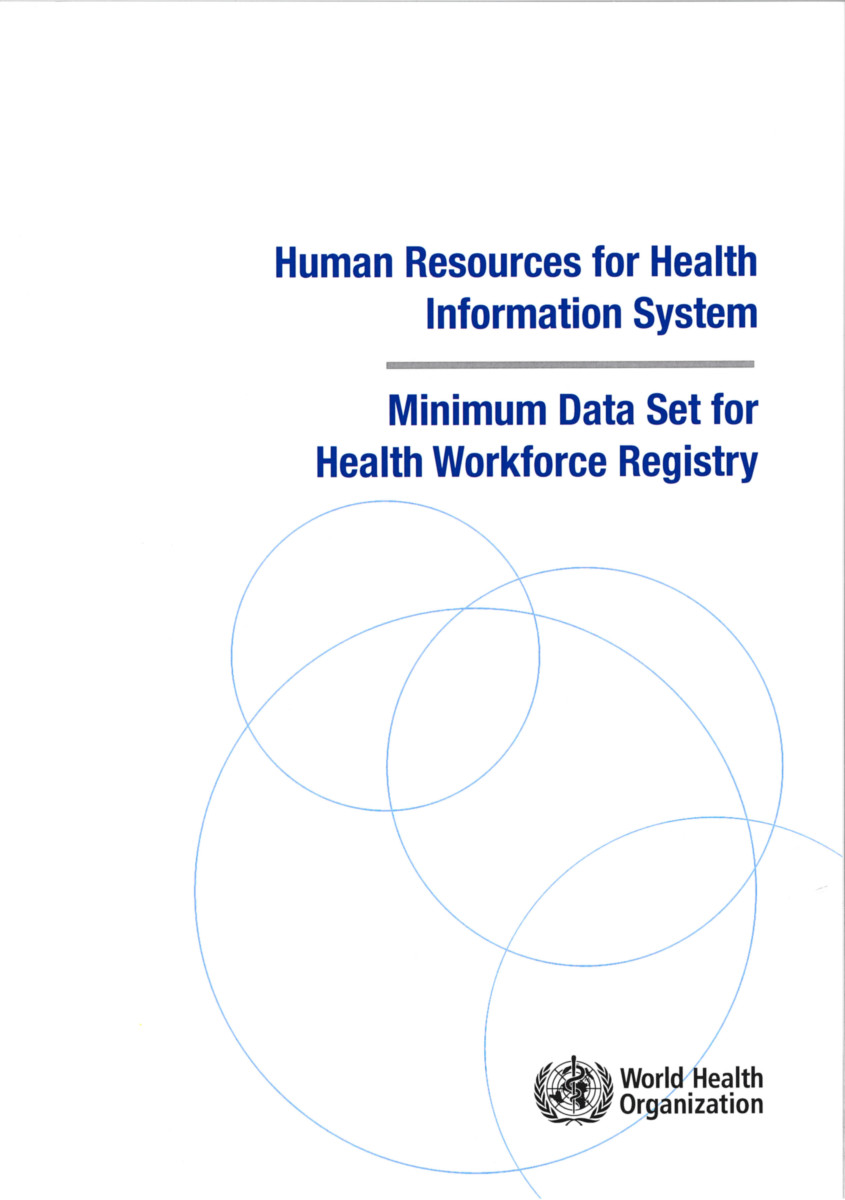 Human Resources for Health Information System