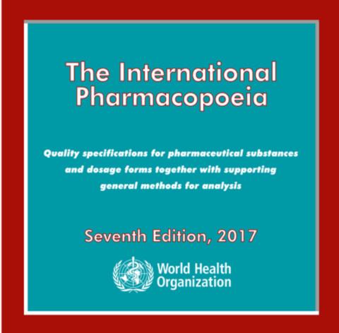 The International Pharmacopoeia 2017 CD-ROM