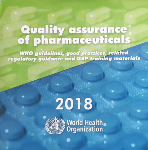 Quality Assurance of Pharmaceuticals 2018