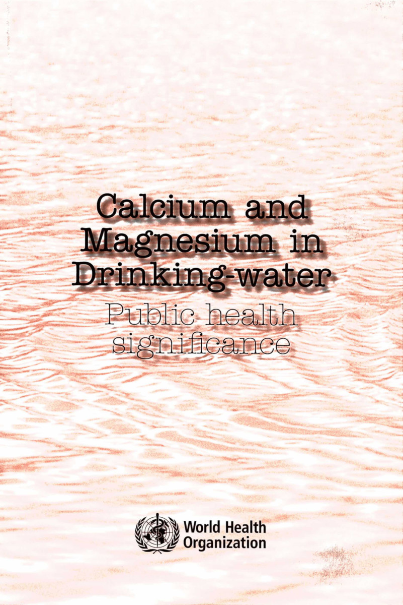 Calcium and Magnesium in Drinking Water