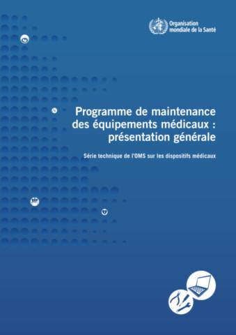 Programme de maintenance des équipements médicaux