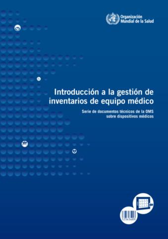 Introducción a la gestión de inventarios de equipo médico