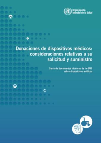 Donaciones de Dispositivos Médicos