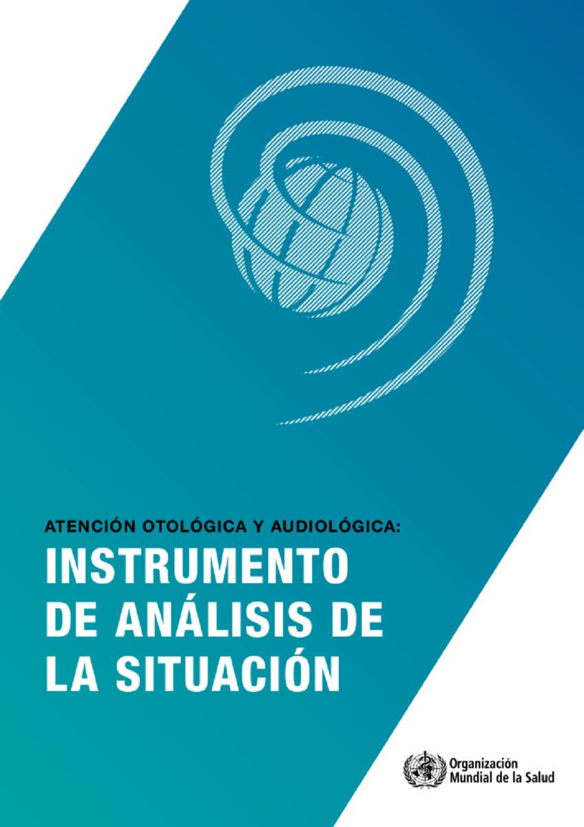 Atención otológica y audiológica