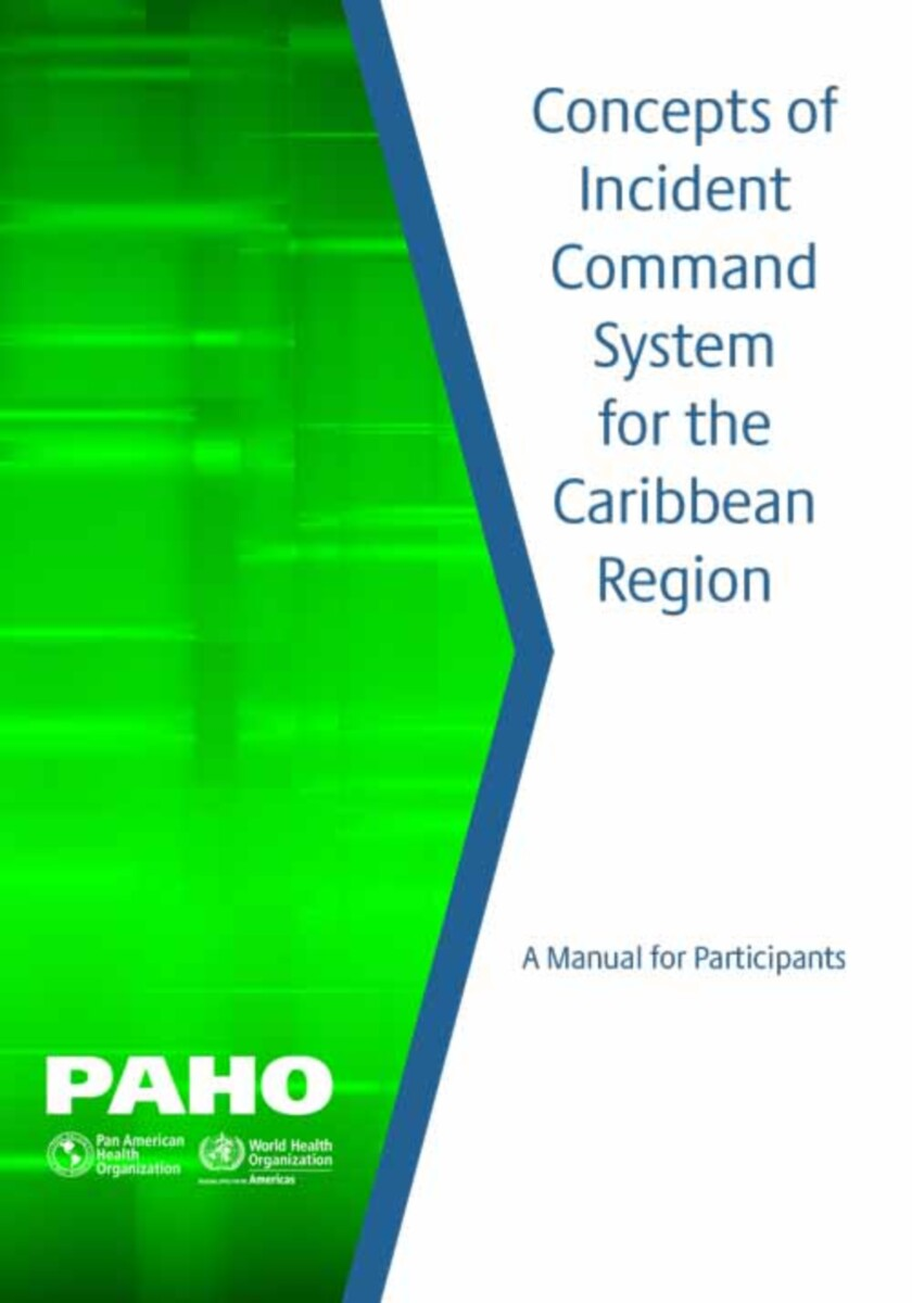 Concepts of Incident Command System for the Caribbean Region