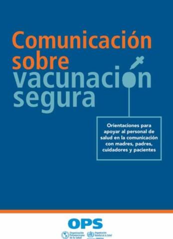 Comunicación sobre vacunación segura